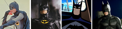Which has portrayed Batman the longest?